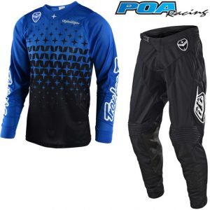 2018 Troy Lee SE Air Megaburst Kit Combo Blue/Black
