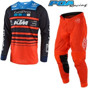 2018 Troy Lee SE Air Streamline Team KTM Kit Combo Navy/Orange