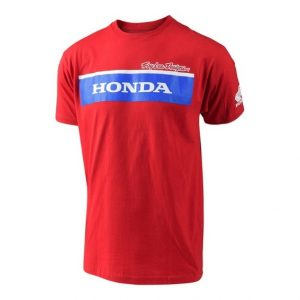 Troy Lee Designs Honda Wing Block T Shirt Red
