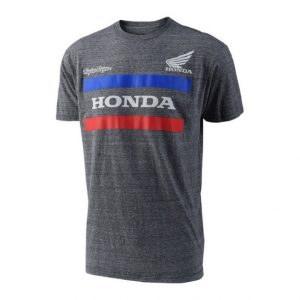 Troy Lee Designs Honda T Shirt Charcoal