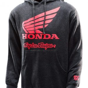 Troy Lee Designs Honda Wing Hoody Charcoal