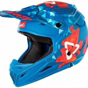 2018 Leatt GPX 4.5 V22 Helmet Blue/Red