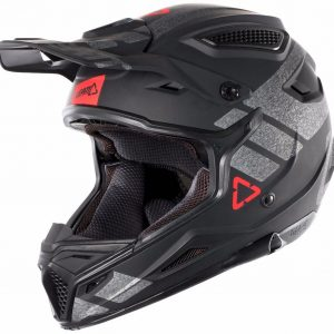 2018 Leatt GPX 4.5 V24 Helmet Black/Brushed