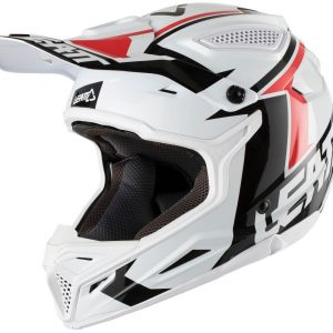 2018 Leatt GPX 4.5 V20 Helmet White/Black
