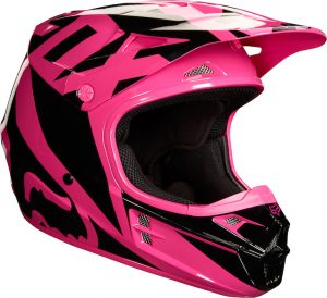 2018 Fox V1 YOUTH Race Helmet Pink