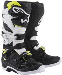 2018 Alpinestars Tech 7 Boot Black/White