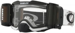 Oakley Front Line MX Race Ready Roll Off Goggle Matte White Speed