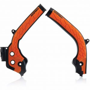 Acerbis X-Grip Frame Guards KTM SXF 250/350/450 2016-2018 – SX 125/150 2016-2018 – SX 250 2017-2018 Black/Orange