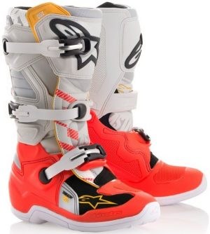 2018 Alpinestars Tech 7s YOUTH Limited Edition Gator Boot
