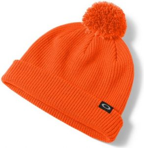 Oakley Riviera Pom Beanie Neon Orange