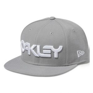Oakley Mark II Novelty Snap Back Stone Grey