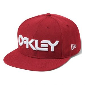 Oakley Mark II Novelty Snap Back Red Line
