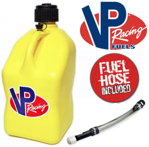 VP Racing 20L Quick Fuel Jug Square Yellow
