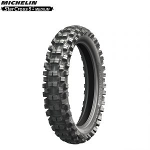 Michelin Offroad Rear Tyre Starcross 5 (MX Medium Terrain) Size 110/90×19″