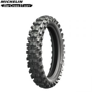 Michelin Offroad Rear Tyre Starcross 5 (MX Soft Terrain) Size 110/90×19″