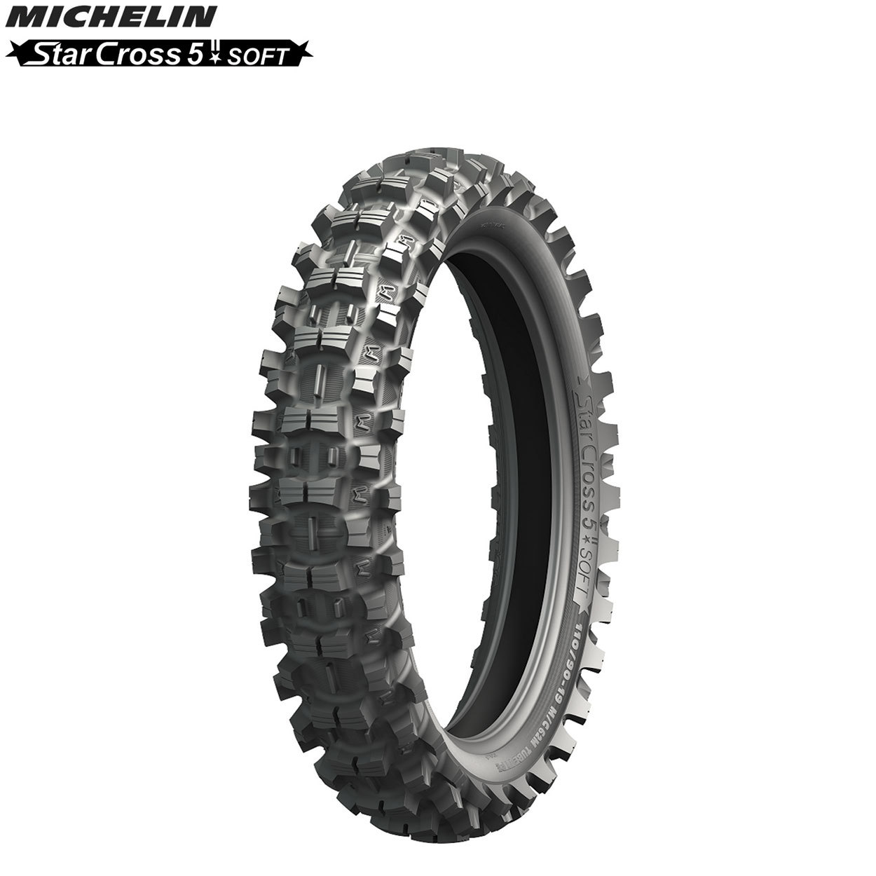 michelin offroad rear tyre starcross 5  mx soft terrain