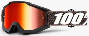 100% Accuri YOUTH Goggle Krick – Red Mirror Lens