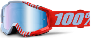 100% Accuri YOUTH Goggle Cupcoy – Blue Mirror Lens