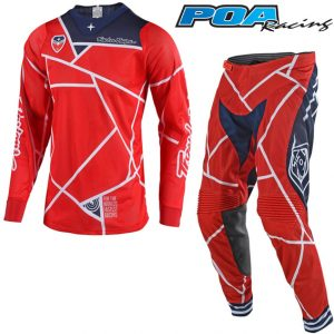 2018.1 Troy Lee SE Air Metric Kit Combo Red/Navy
