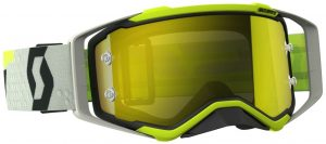 2018 Scott Prospect Goggle Black/Yellow – Yellow Chrome Lens