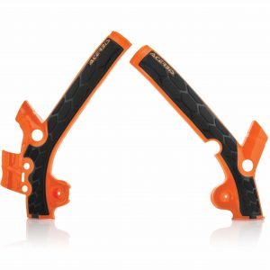 Acerbis X-Grip Frame Guards KTM SX 85 2014-2017 Orange/Black