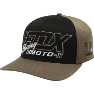 Fox Flection Flexfit Hat Fatigue Green