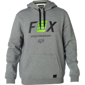Fox Pro Circuit Pullover Fleece Heather Graphite