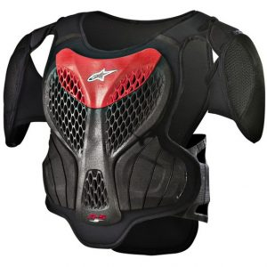 2018 Alpinestars YOUTH A5 Body Armour Black