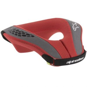 2018 Alpinestars YOUTH Neck Roll Red/Grey