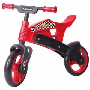 Polisport Off-Road First Balance Bike Black/Red