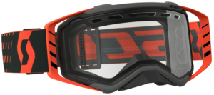 Scott Prospect Enduro Goggle Black/Orange – Clear Lens