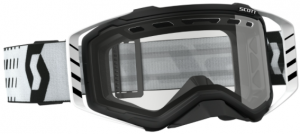 Scott Prospect Enduro Goggle Black/White – Clear Lens
