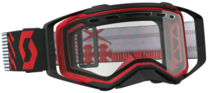 Scott Prospect Enduro Goggle Red/Black – Clear Lens