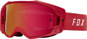 2019 Fox VUE Goggle Red – Red Mirrored Lens