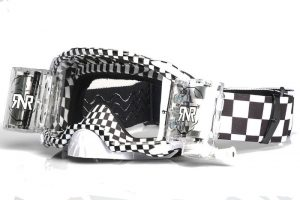 Rip N Roll Platinum WVS 48mm Film Roll Off Goggle Chequered Flag