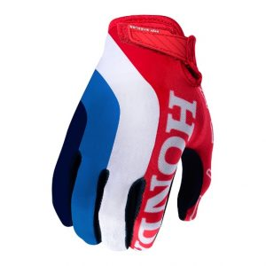 2018 Troy Lee Air Team Honda Glove Red/White