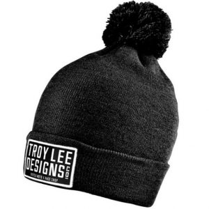2018 Troy Lee Designs Knox Beanie Heather Black