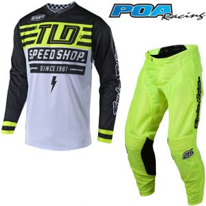 2018.1 Troy Lee GP Air Bolt Kit Combo Flo Yellow