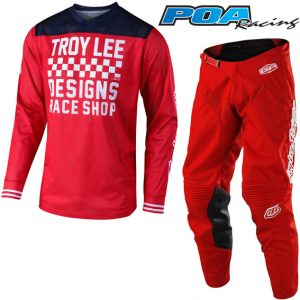 2019 Troy Lee GP Air Raceshop Kit Combo Red