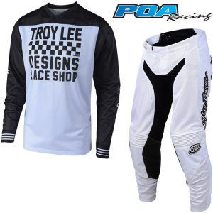 2019 Troy Lee GP Air Raceshop Kit Combo White