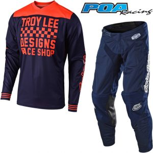 2019 Troy Lee GP/GP Air Raceshop Kit Combo Navy