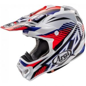 2018 Arai MX-V Slash Helmet Red