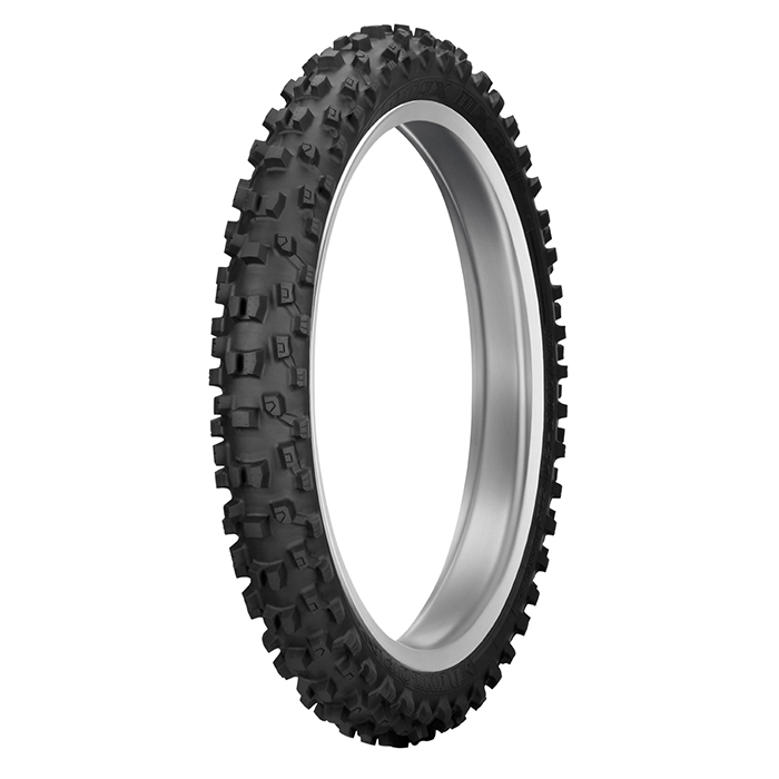 """Dunlop geomax mx-33 front tyre 80/100x21"""" - front 3. 4 mx33 700"""