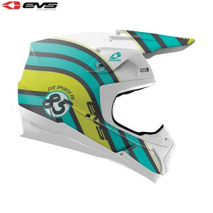 2018 EVS T5 Cosmic Adult Helmet Matte Tiffany Blue