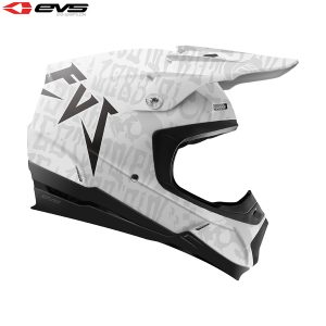 2018 EVS T5 Evilution Adult Helmet Matte White