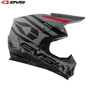 2018 EVS T5 Grappler Adult Helmet Grey