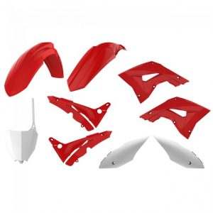 Polisport Restyle Plastic Kit HONDA CR125 02-07 CR250 02-07 Red/White