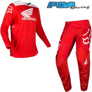 2019 Fox 180 Honda Kit Combo Red