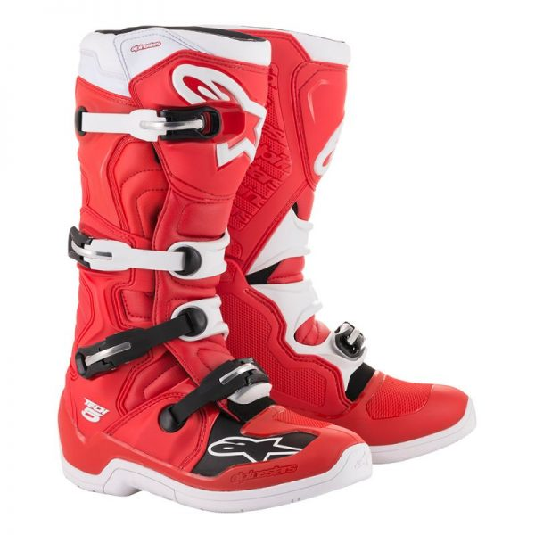 Alpinestars tech 5 boot red/white - 2015015 32 tech 5 boot redwhite web 8