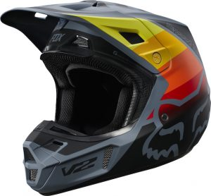2019 Fox V2 Murc Helmet Blue Steel